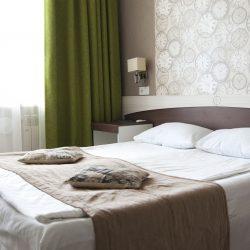 Номер категории «Стандарт» с двуспальной кроватью